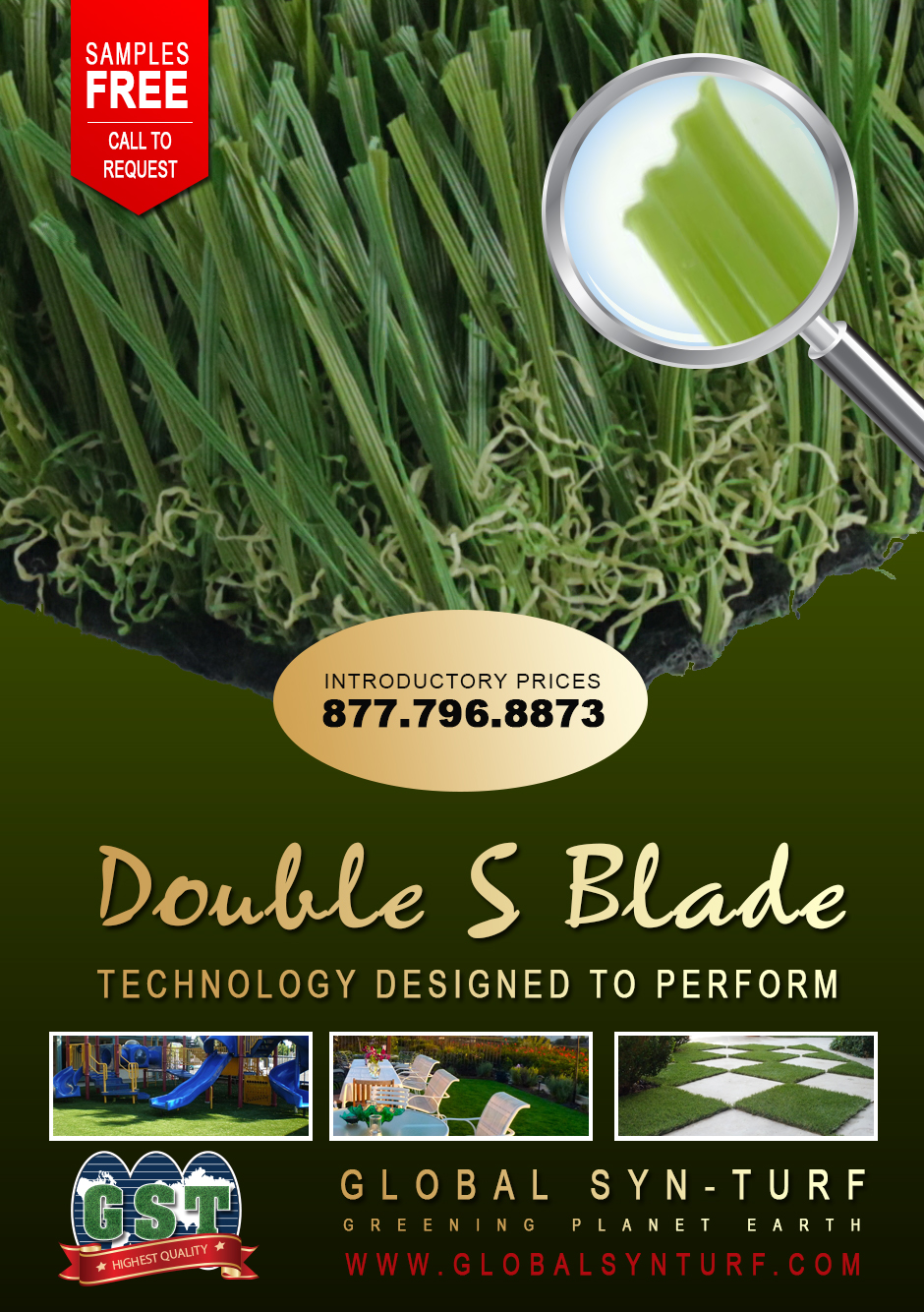 fakegrass Global Syn-Turf Launches Premium Double S Blade Artificial Grass Technology