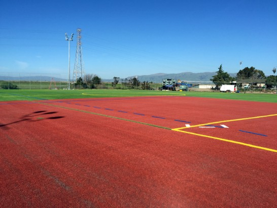 Artificial Grass Photos: Artificial Grass Palo Alto, California Football Field