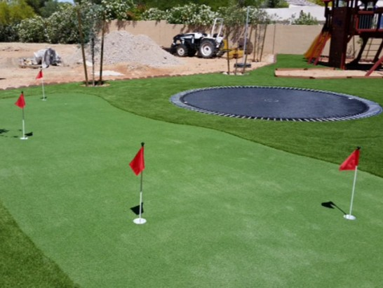 Fake Turf Davenport, California Outdoor Putting Green, Backyard Ideas artificial grass