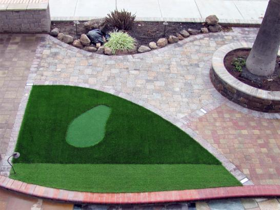 Artificial Grass Photos: Outdoor Carpet Stockton, California Golf Green, Front Yard