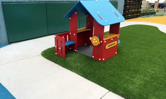 Artificial Grass for Playgrounds in San Francisco